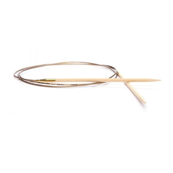 Rundstricknadel Bambus - 80 cm
