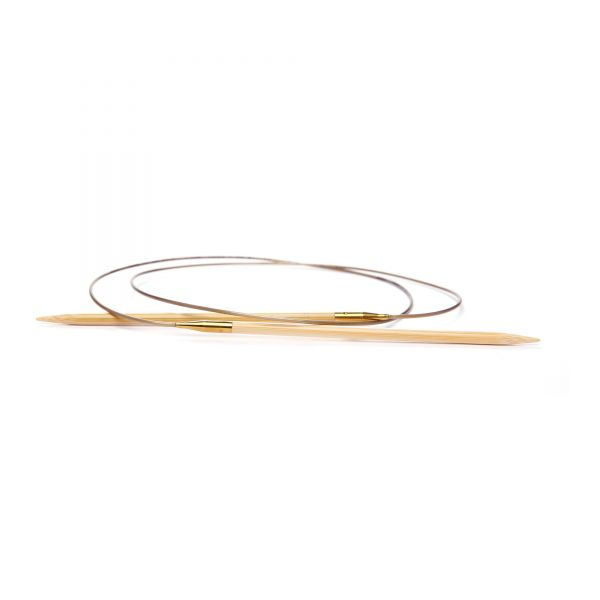 Rundstricknadel Bambus - 40 cm